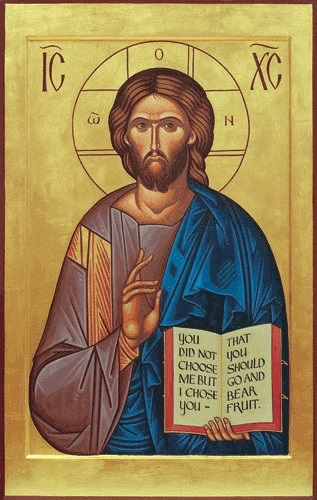 """""""Christ Pantocrator"""" (""""Christ, Ruler of All"""") by Heather MacKean"""